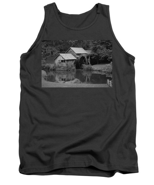 Reflecting The Mill Tank Top by Eric Liller