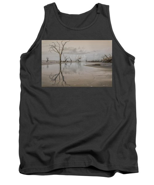 Reflection Of A Dead Tree Tank Top