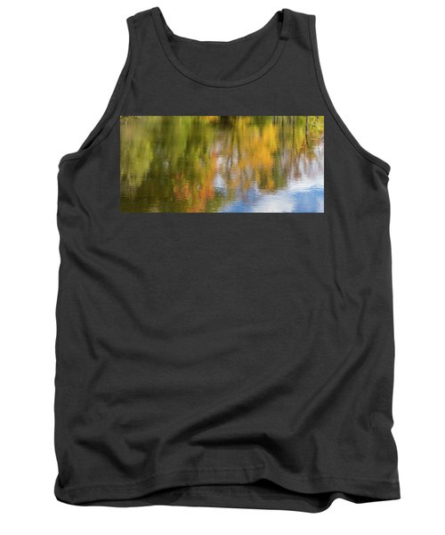 Reflection Of Fall #1, Abstract Tank Top
