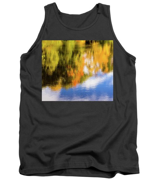 Reflection Of Fall #2, Abstract Tank Top