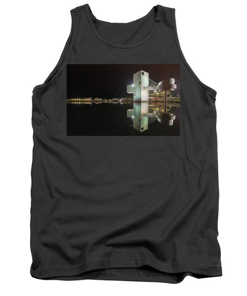 Reflection Of Rock And Roll In Cleveland Tank Top