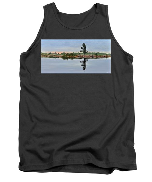 Reflection On The Bay Tank Top