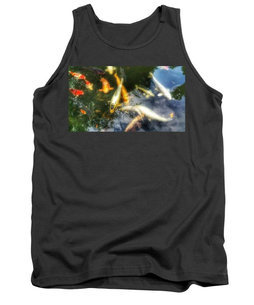 Reflections And Fish 7 Tank Top