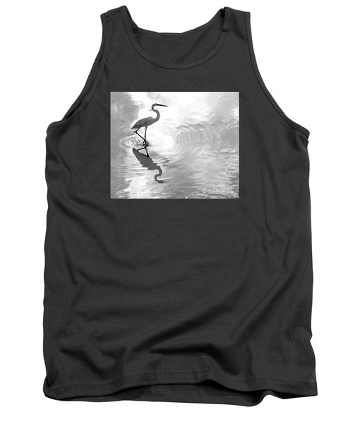 Reflections And Ripples Tank Top by Christy Ricafrente