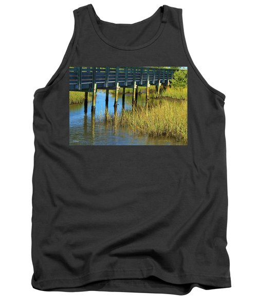 Reflections And Sea Grass Tank Top