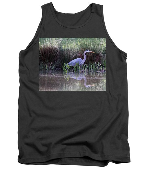 Reflections At Nassau Grove Tank Top by Allan Levin