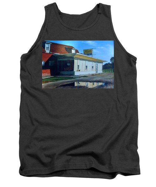 Reflections Of A Diner Tank Top