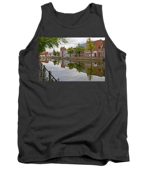 Reflections Of Brugge Tank Top