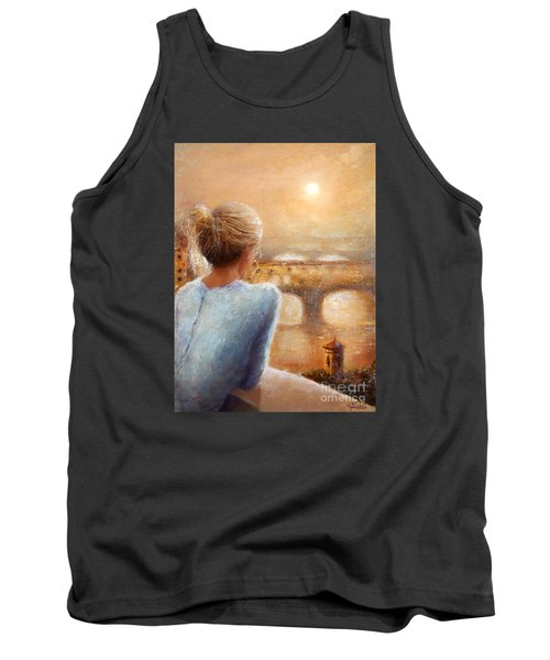 Reflections Of Florence Tank Top