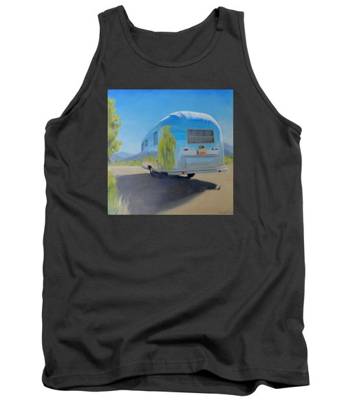 Reflections Of Mountain And Sage Tank Top