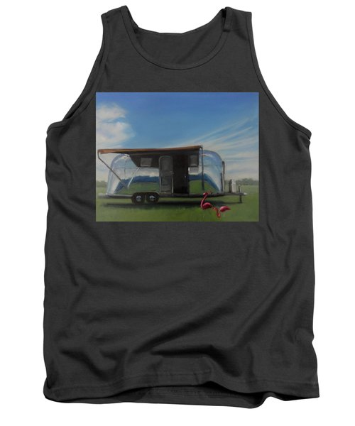 Reflections Of The Airstream Factory Tank Top