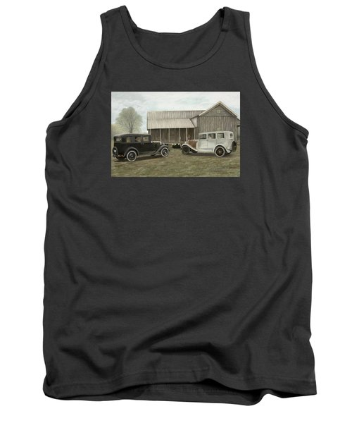 Reflections Of The Past Tank Top
