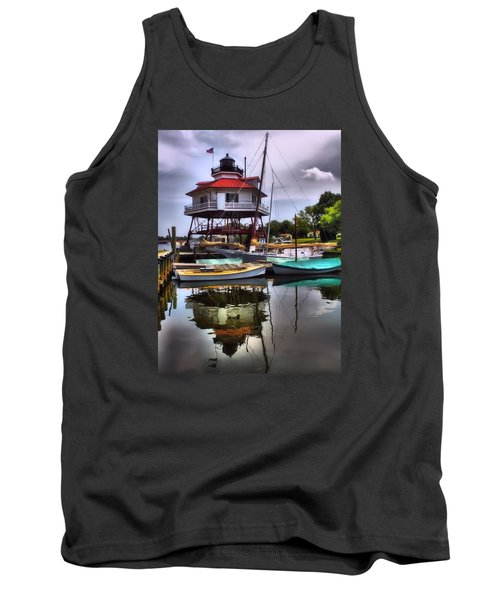 Reflections On Golden Creek Tank Top