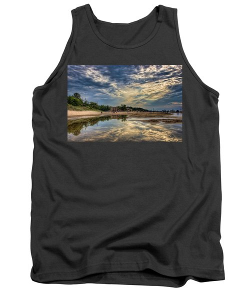 Reflections On The Beach Tank Top
