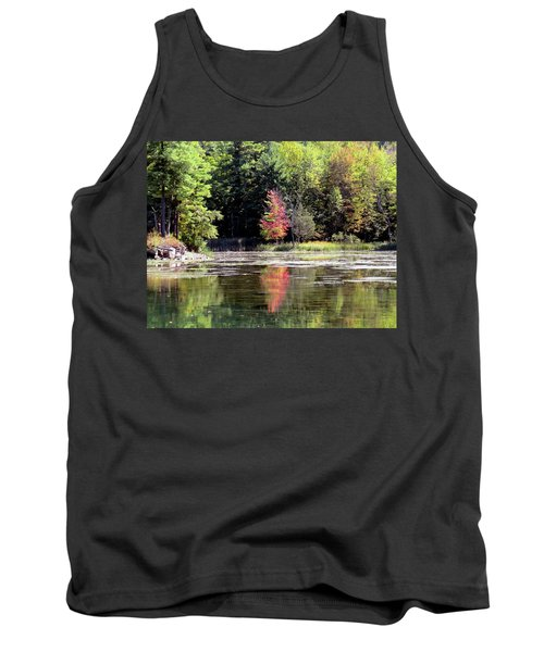 Reflections On The Rift Tank Top