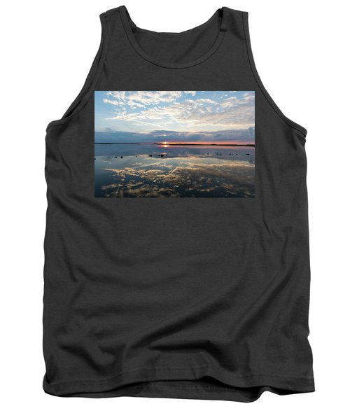 Reflections Over Back Bay Tank Top