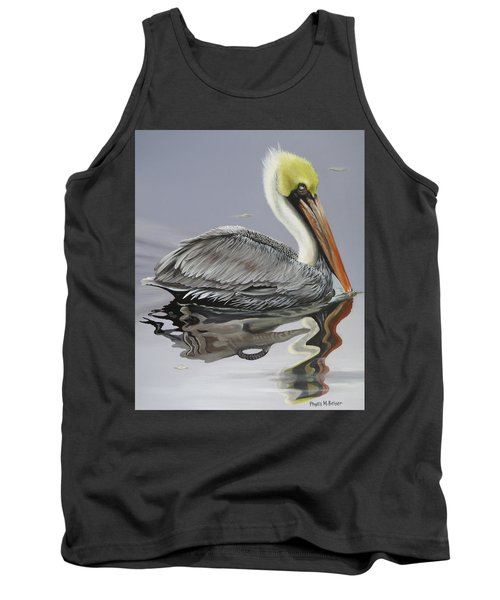 Reflective Perspective Tank Top