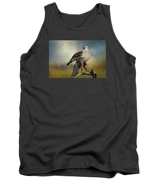 Tank Top featuring the photograph Regal Bird by Barbara Manis