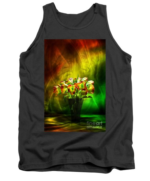 Reggae Tulips Tank Top by Johnny Hildingsson
