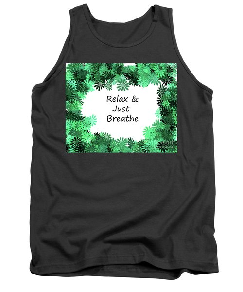 Relax And Breathe Tank Top