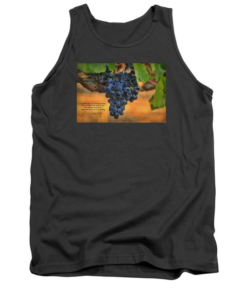 Tank Top featuring the photograph Remain In Me by Lynn Hopwood