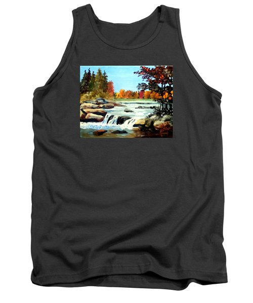 Remembering The Little Broad River Tank Top