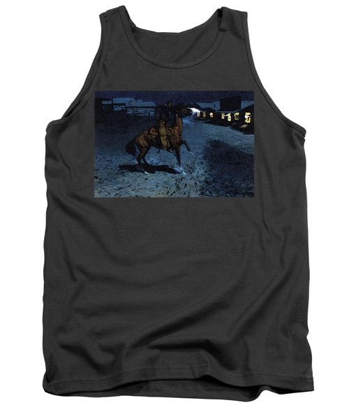 Remington Frederic An Arguement With The Town Marshall Tank Top