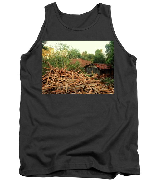 Tank Top featuring the photograph Remnants by Beto Machado