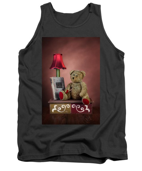 Tank Top featuring the photograph Required Reading by Tom Mc Nemar