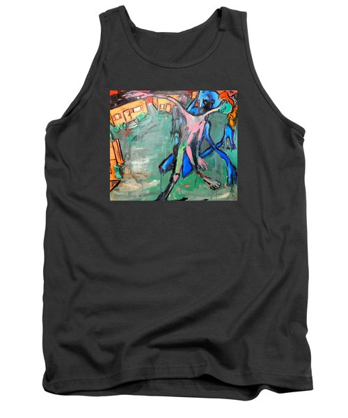 Residential Sweep Tank Top by Kenneth Agnello