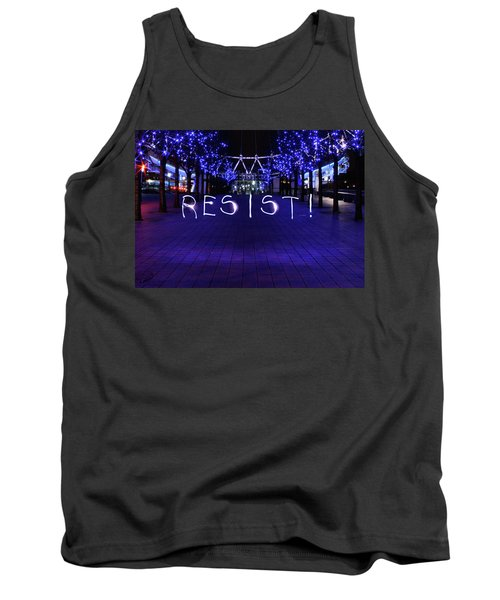Resistance Light Painting Tank Top