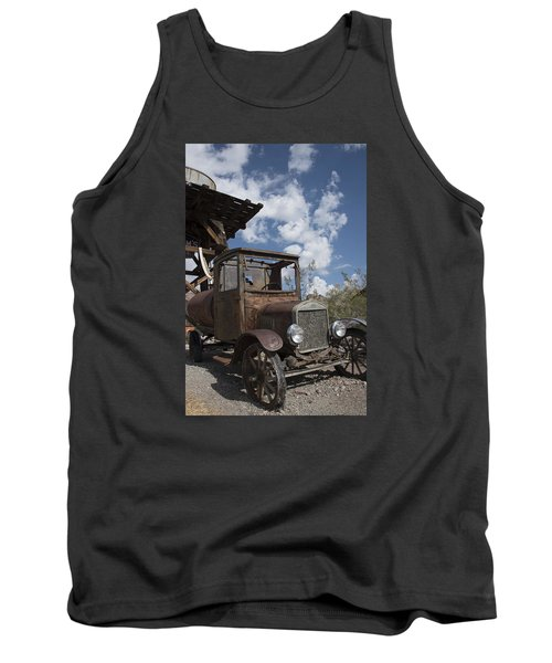 Tank Top featuring the photograph Rest Stop by Annette Berglund