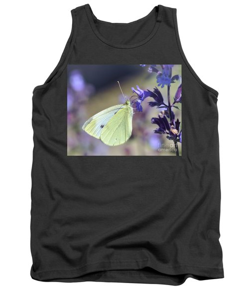 Tank Top featuring the photograph Resting In The Purple by Kerri Farley