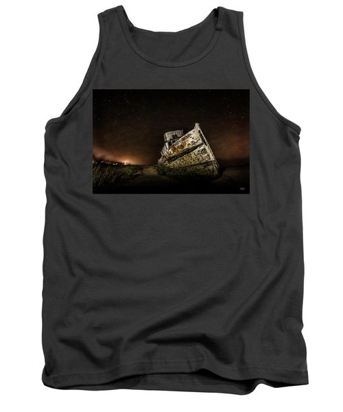 Tank Top featuring the photograph Reyes Shipwreck by Everet Regal