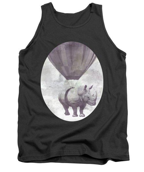 Rhino On Clouds Tank Top
