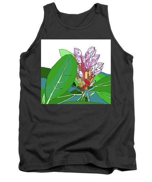 Rhododendron Graphic Tank Top