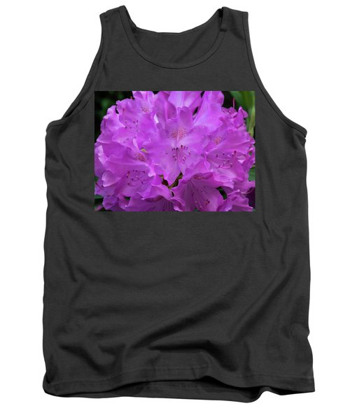 Rhododendron With Stamen And Stigma Tank Top