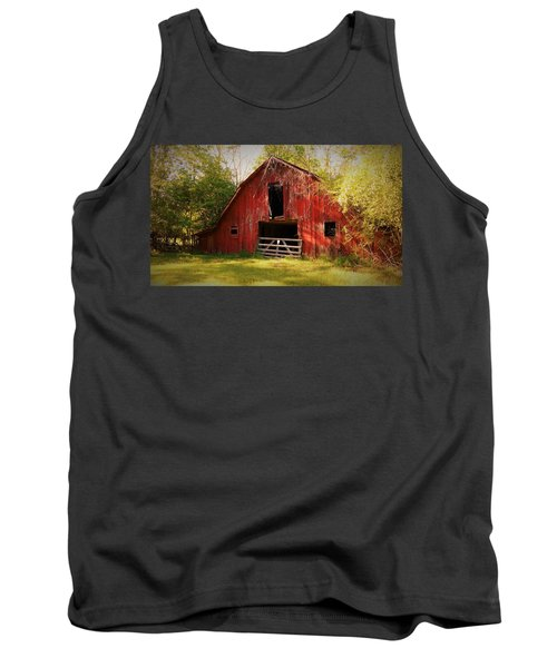 Tank Top featuring the photograph Richton Barn I by Lanita Williams