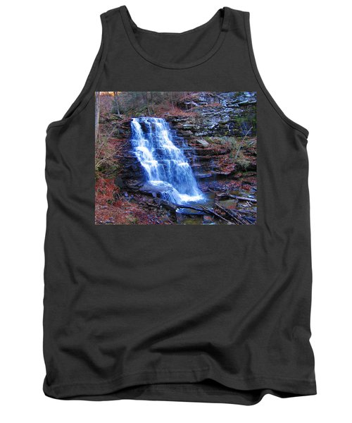 Ricketts Glen Waterfall 3941  Tank Top