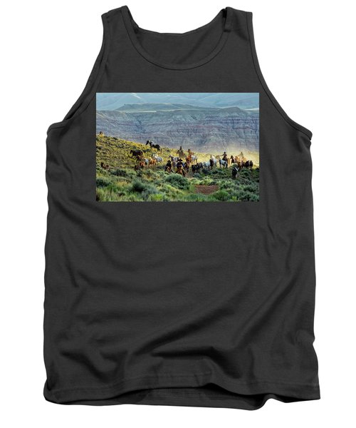 Riding Out Of The Sunrise Tank Top
