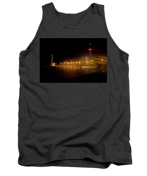 Tank Top featuring the photograph Riding Station, Tel Aviv by Dubi Roman