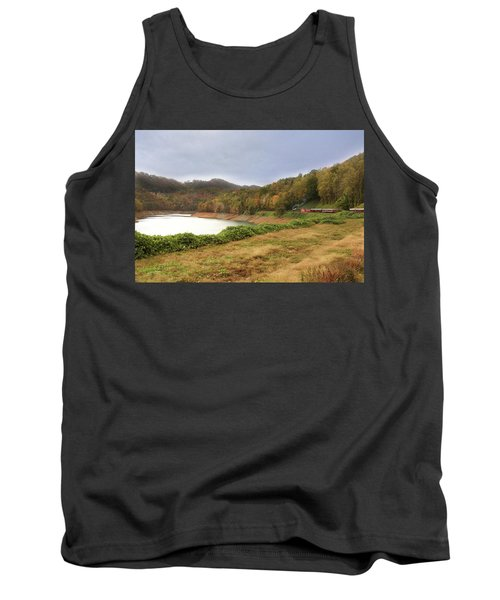 Riding The Rails Tank Top by Sharon Batdorf