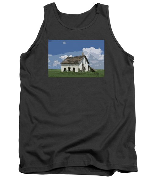 Riel Period Homestead Tank Top by Ellery Russell