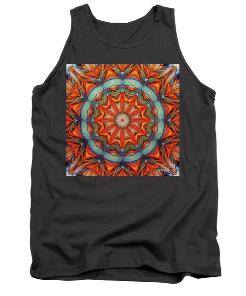 Ring Of Fire Tank Top by Mo T