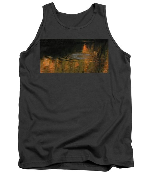 Tank Top featuring the photograph Rings And Reflections by Suzy Piatt