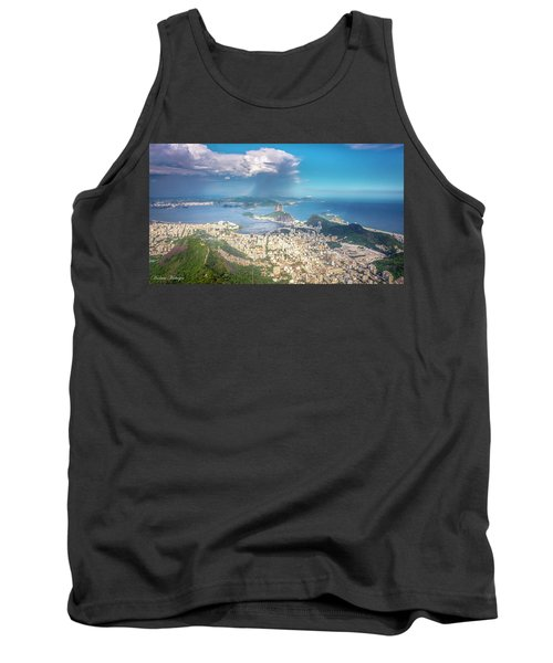 Tank Top featuring the photograph Rio De Janeiro by Andrew Matwijec