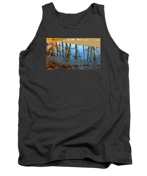 Tank Top featuring the photograph Ripples by Spyder Webb