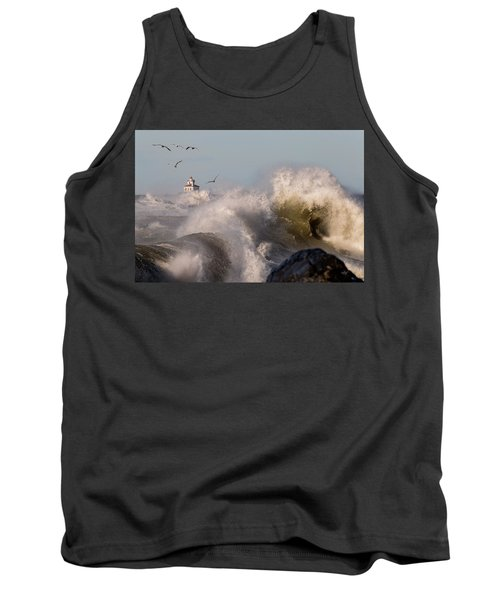 Tank Top featuring the photograph Rise Above The Turbulence by Everet Regal