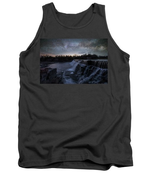Rise And Fall Tank Top by Aaron J Groen