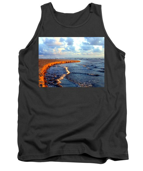 Rising Tide At Sundown  Tank Top